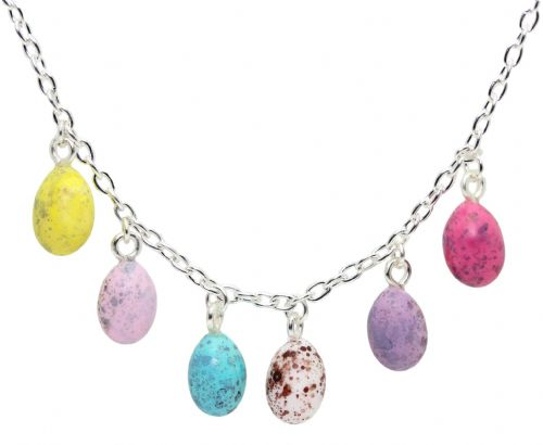Bluebubble MINI SWEET TREAT Mini Eggs Charm Necklace With FREE Gift Box